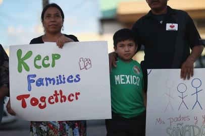Immigration reform protest