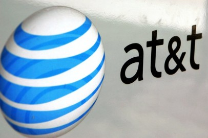 An AT&T logo is displayed on an AT&T truck July 25, 2006 in Park Ridge, Illinois. AT&T announced July 25 that its profits climbed 81 percent with the growth in wireless communications and broadband se