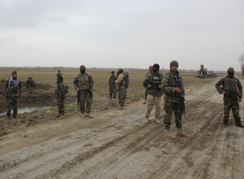 USA Conducts Air Strike Against Taliban