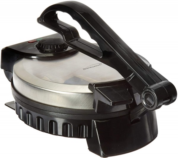 Brentwood TS-127 Stainless Steel Non-Stick Electric Tortilla Maker
