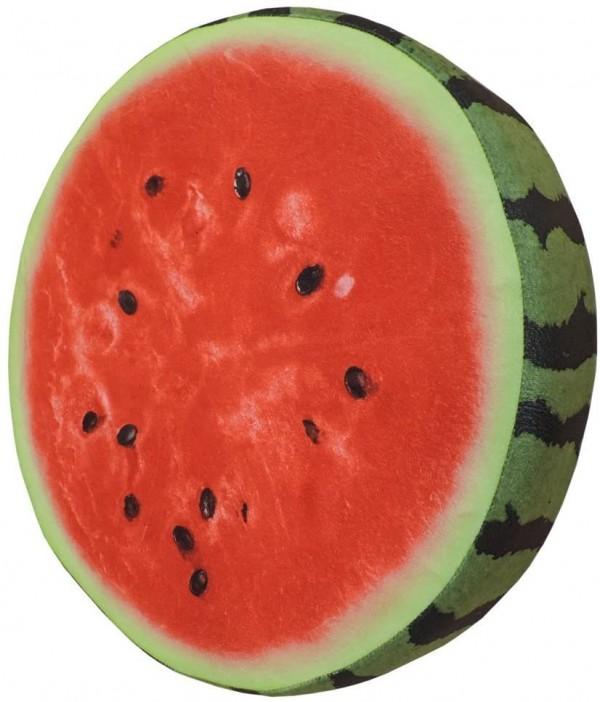 Watermelon Slice Realistic Soft Velvet Foam Pillow