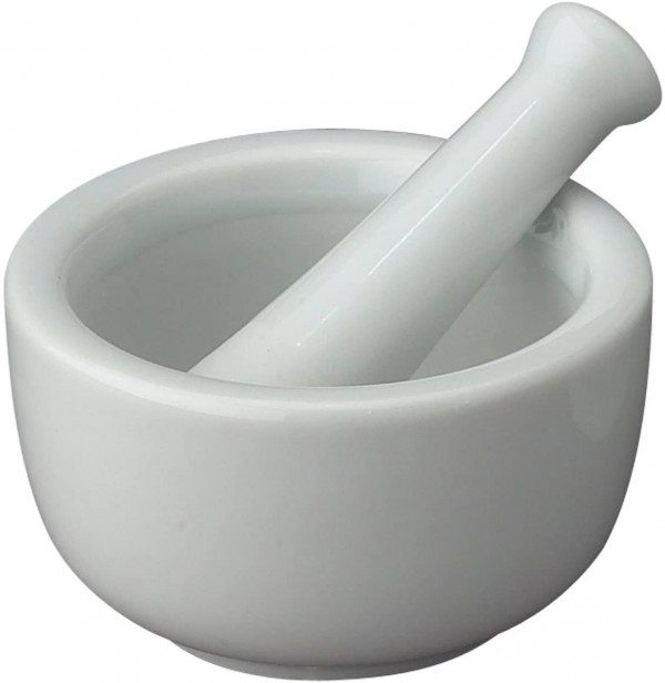 HIC Mortar and Pestle Spice Herb Grinder