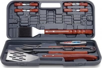 17-Piece Grilling Tool Set
