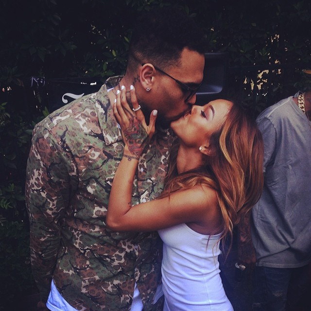 karrueche Tran dating Chris Brown