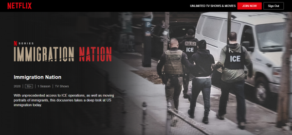 Immigration Nation: Docuseries About Reality in a Nation Now on Netflix