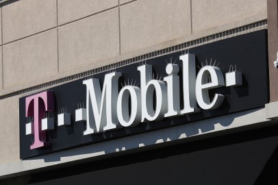 A general view of a T-Mobile store on March 26, 2020 in Deer Park, New York.