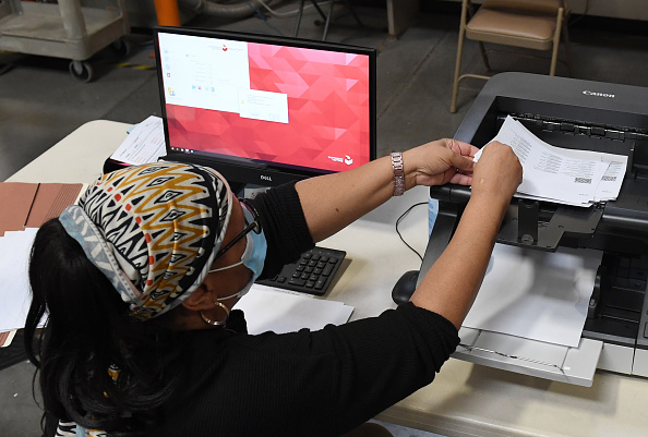 Clark County Election Officials Work On Vote Tabulation