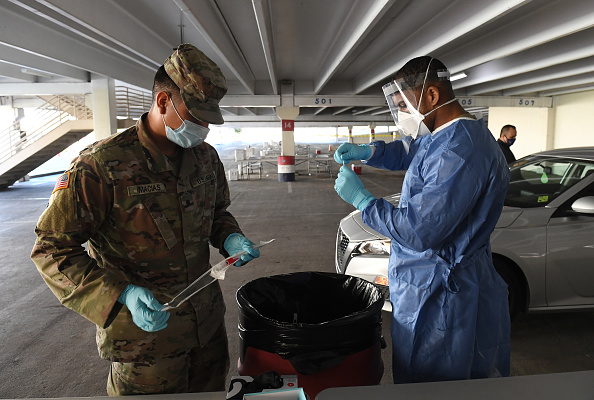 Texas National Guard to Help Pandemic-Ravaged El Paso with Overflowing Morgues