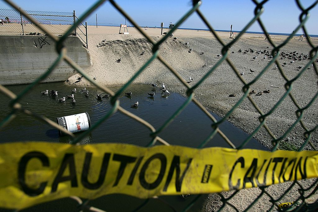Raw Sewage From Mexico Continues To Pollute Southern California Beaches