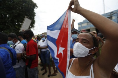 Cuban Protesters Flood Streets to Demand End to Communist Dictatorship