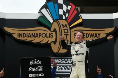 NASCAR: AJ Allmendinger Wins Crash-Filled Race at Indianapolis Road Course
