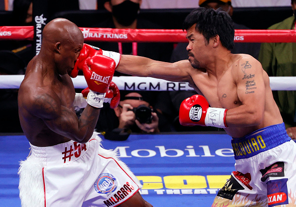 Manny Pacquiao vs. Yordenis Ugas Fight Results: Cuban Boxer Wins, Score Card, and Updates