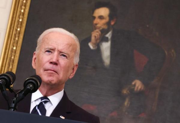 Joe Biden on White House