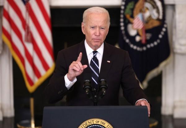 President Joe Biden on White House