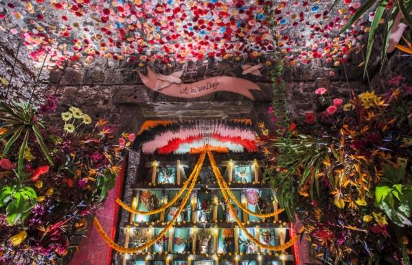Día de Muertos: Ofrenda designed by Frendh Designer Jean Paul gaultier and Anahuacalli Museum