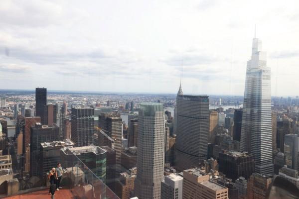 New York City's Second Tallest Office Building Opens In Now Quiet Midtown Manhattan