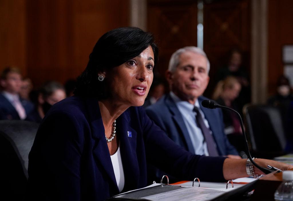 CDC Director Rochelle Walensky testify on Senate Health