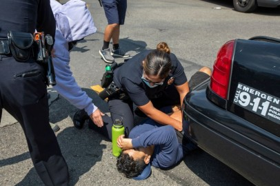 California Police Investigate Officer Caught on Video Punching Young Suspect in the Face During Arrest