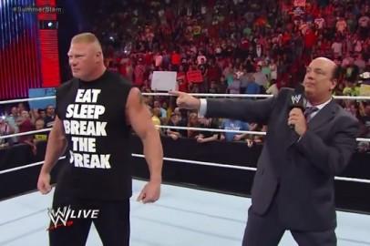 Brock Lesnar & Paul Heyman3