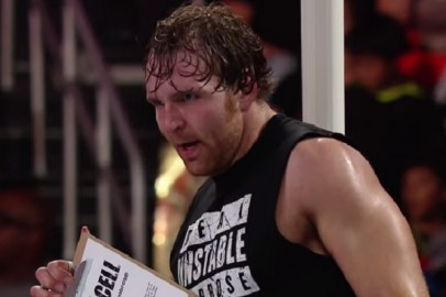 Dean Ambrose Battles Kane As He Prepares For Hell In A Cell
