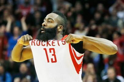 Houston Rockets Shooting Guard James Harden