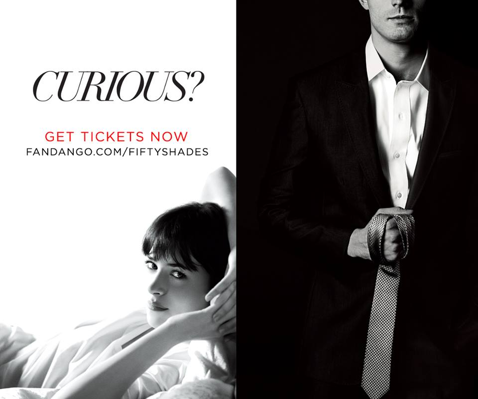 Fifty Shades of Grey Movie Tickets, Trailer, News