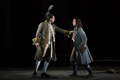 Peter Mattei (Left) and Luca Pisaroni (right) were terrific in a wonderfully balanced performance of Mozart's