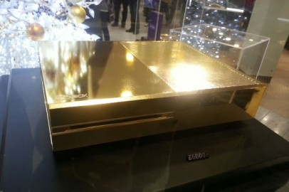 Xbox One Gold Plated