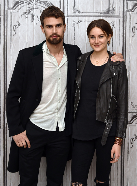 Theo james girlfriend