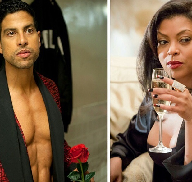 Taraji henson and adam rodriguez dating