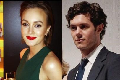 Leighton Meester and rumored husband Adam Brody