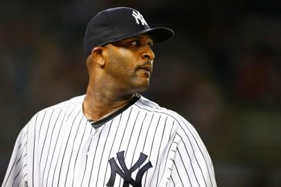 New York Yankees Pitcher CC Sabathia