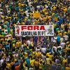 Anti-Corruption Protestors Rally Against Former President Lula And Dilma Rousseff