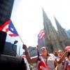 Puerto Rico flag parade