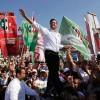 Pres. Candidate Pena Nieto Campaigns In Monterrey Ahead Of Election