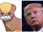 Yungoos and Donald Trump.