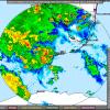 Tropical Storm Andrea off the coast of Florida