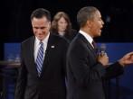 Barack Obama And Mitt Romney Participate In Second Presidential Debate