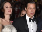 Writer-director-producer-actress Angelina Jolie Pitt (L) and actor-producer Brad Pitt attend the opening night gala premiere of Universal Pictures' 'By the Sea' during AFI FEST 2015 presented by Audi