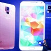 CEO and President of Samsung JK Shin presents the new Samsung Galaxy S5 during the first day of the Mobile World Congress
