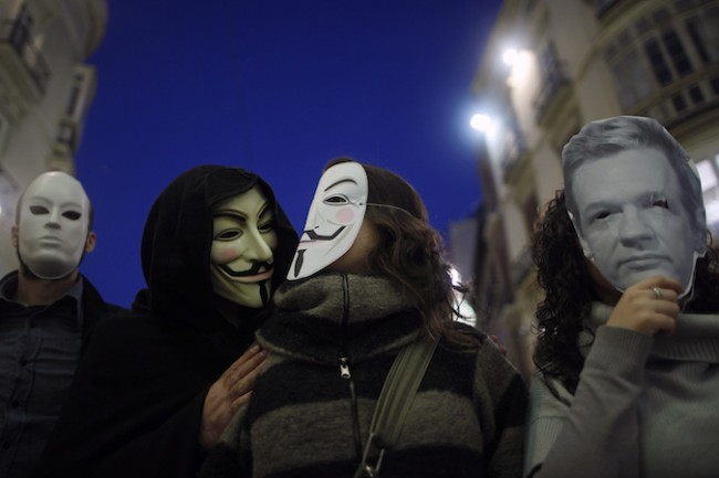 WikiLeaks and Anonymous