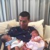 Portuguese Footballer Cristiano Ronaldo Overjoyed with Twins