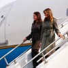 Melania Trump Flaunts Coach Trench Coat Inspired by American Troops
