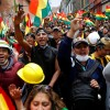 Bolivian's new leader is facing daunting problems while protests continue