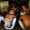 Gang member inside their cell