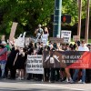 Black Lives Matter Activists And Protesters Supporting Police Hold Rallies In Provo, Utah