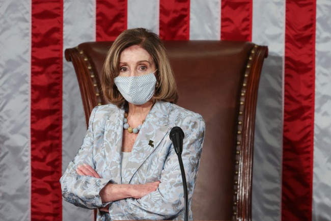 Pelosi Wins House Speaker Seat for the Fourth Time
