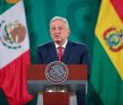 AMLO Meets Bolivian President Luis Arce