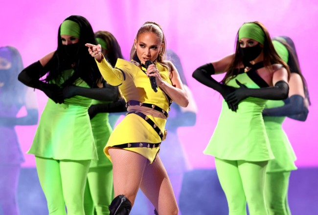 Jennifer Lopez Films New Music Video, Poses With Police Officers During Video Shoot in Miami