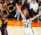 NBA Finals 2021:  Phoenix Suns' Chris Paul Takes Over Late in Game 1 Win vs. Milwaukee Bucks